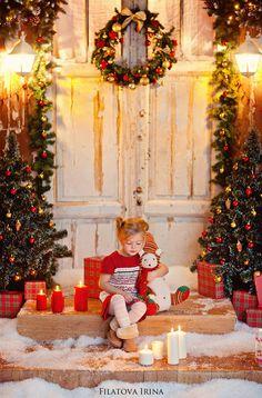 """Filatova Irina Photography Blog: Фотостудия """"Париж"""" зал Детскй декорация Новогод..."""