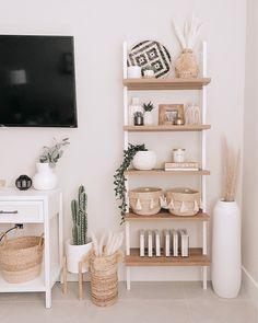 Home Living Room, Apartment Living, Living Room Designs, Living Room Decor, Shelf Ideas For Living Room, Apartment Bedroom Decor, Room Design Bedroom, Room Ideas Bedroom, Bedroom Inspo