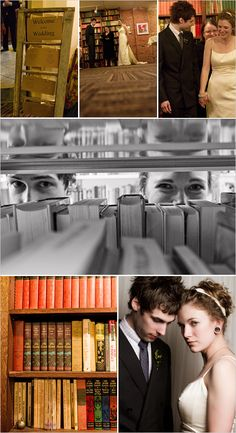 Library wedding (If I ever get married this WILL happen!!)