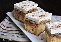 Prajitura Snickerdoodles cu mere Krispie Treats, Rice Krispies, Romanian Food, Food Cakes, Something Sweet, Banana Bread, Cake Recipes, Deserts, Drink