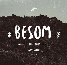Bonita fuente a mano la que nos trae el diseñador Lituano Krisjanis mezulis bajo el nombre Besom. Una fuente que os vendrá de perlas para esos proyectos donde se requiere una fuente informal. Arrancamos la semana!    Descargar fuente tipográfica Besom gratis