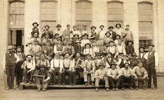 Milwaukee Railroad Employees. #Wisconsin #history