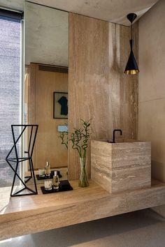Texturas naturales y materiales lujosos adornan los espacios.   Galería de fotos 13 de 17   AD MX