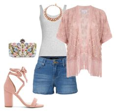 """""""Pink Frenzy"""" by fashionwithcare on Polyvore featuring Vince, LE3NO, Miss Selfridge, Raye, Ellen Conde, Alexander McQueen, men's fashion and menswear"""