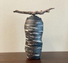 Free Priority Shipping! #freepriorityshipping #ceramicurn #ceramicjar #ceramiccontainer #sculpturalceramics #ceramicart