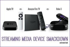 Apple TV vs Amazon Fire TV vs Roku 3: A smackdown to help you figure out the best streaming media device for you