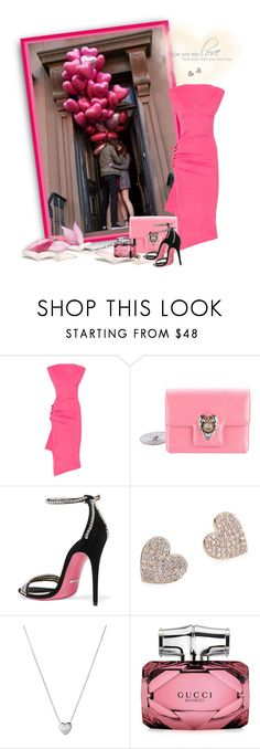 """""""Love is in the Air"""" by loveroses123 ❤ liked on Polyvore featuring Peligrosa, Paco Rabanne, Alexander McQueen, Gucci, Kate Spade, Links of London and Lancôme"""