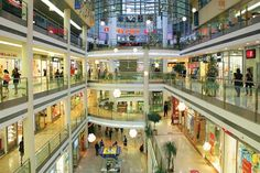 shopping mall in Prague