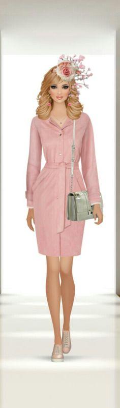 Fashion Looks, Women's Fashion, Fashion Design, Covet Fashion Games, Lady, Anime, Vintage, Dresses, Style