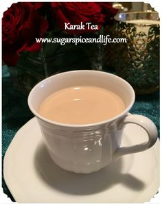 Karak Tea - A recipe for homemade, spiced tea made with evaporated milk. I first tasted this tea in Dubai and fell instantly in love! [courtesy: www.sugarspiceandlife.com]
