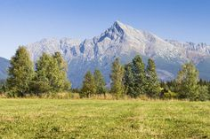View on mountains of High Tatras and peak Krivan High Tatras, Heart Of Europe, Danube River, Bratislava, Countries Of The World, Capital City, Homeland, Beautiful World, Animals And Pets