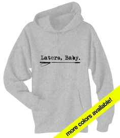 UNOFFICIAL - Fifty 50 Shades of Grey - Laters Baby - Riding Crop - Unisex Hoodie