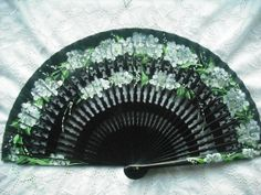Check out our Lace hand fans selection for the very best in unique or custom, handmade pieces from our shops. Antique Fans, Vintage Fans, Hand Held Fan, Hand Fans, Pretty Hands, Beautiful Hands, Lace Parasol, Chinese Fans, Fan Out