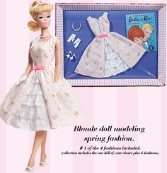 Let's Play Barbie™ Doll | Barbie Collector This was my favorite dress when I was 10-11 years old.
