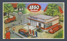 LEGO City, formerly known as LEGO Town, reflects many aspects of reality. An enormous range of different brands offer various services in our everyday lives and this is also true in the lives of minifigures who require many of the same amenities and products that we do.