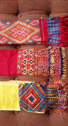 The handwoven tenun served as a belt by Timorese lady when they esering sarong