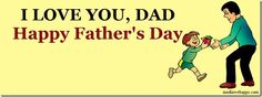 Facebook timeline covers for fathers day with cute baby