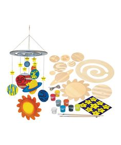 This Discovery Kids Solar System Kit by Works of Ahhh is a great creative learning tool for young ones. Hands on education. 40% off retail. #montessori