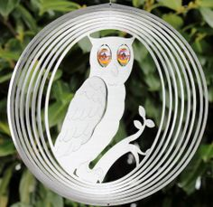 Bird, Christmas Ornaments, Holiday Decor, Animals, Wind Chimes, Owls, Weather, Hamburg, Stainless Steel