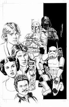 Marvel Star Wars #1, cover variant by Mike Mayhew