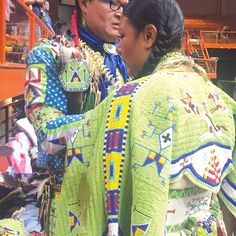 From the powwow springs many positive things in life, which can be directly connected to the spirituality sewn into the songs, dances and regalia.