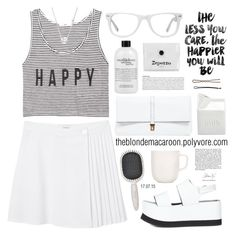 """17.07.15 "" by theblondemacaroon ❤ liked on Polyvore featuring Monki, Joseph, MANGO, Sydney Evan, Americanflat, BIA Cordon Bleu, Muse, Earth Therapeutics, philosophy and iittala"