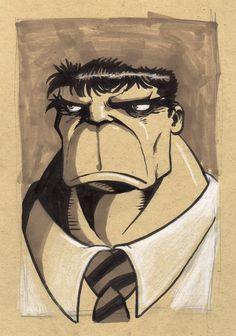 #Hulk #Animated #Fan #Art. (Hulk Portrait) By: PandaFace. ÅWESOMENESS!!!™ ÅÅÅ+