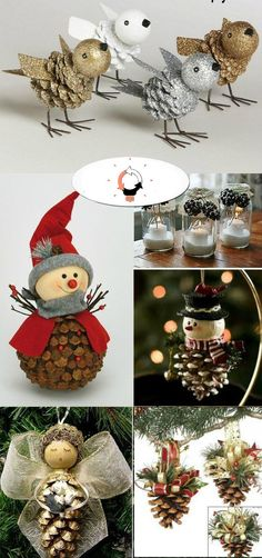 Handmade Christmas Crafts, Christmas Decorations For The Home, Christmas Ornament Crafts, Christmas Art, Holiday Crafts, Christmas Makes, Gourmet Foods, Food Photography, Carnival Crafts