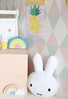 Dick Bruna, the creator of bunny Miffy - By Kids Interiors