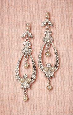 Wedding earrings.
