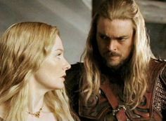 Eomer and Eowyn didn't get enough screen time in the movies but they did get their scenes put back in in the extended editions