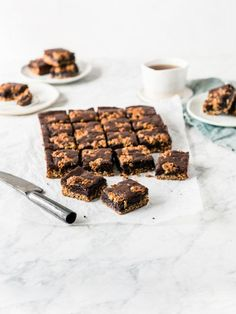 Anzac biscuit brownie recipe Beef Tri Tip, Mango Sauce, Anzac Biscuits, Berry Crumble, Hot Butter, Poached Pears, Roasted Salmon, Shredded Coconut, Roasted Cauliflower