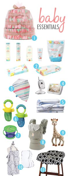 Baby Essentials Roundup