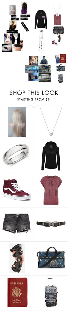 """Brianna~ Flying Back Home To California with TJ (2012)"" by wwetnagirl ❤ liked on Polyvore featuring Links of London, Vans, Dorothy Perkins, New Look, LeSportsac, Passport and Billabong"