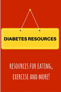 Links from reliable websights to help you find useful information about diabetes and nutrition topics.