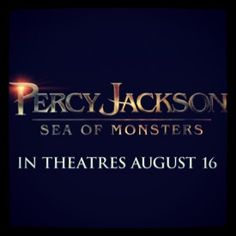 Percy Jackson Sea of Monsters trailer has just been released!!!!! I am so ecstatic! It looks so much more incredible, funny, and true to the book then the first movie. I'm on the edge of my seat!!!:D Any Percy Jackson   Definatly need to check it out