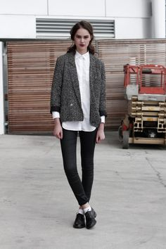 NZFW: Models Off-duty - Rosie Herdman.