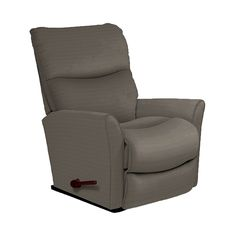 Offering clean, contemporary styling on a smaller-scale, this chaise rocker recliner has big impact. It's a fresh, understated silhouette with bucket seat styling and an inviting chaise seat and legrest for full leg support and relaxing rocking motion. All the comfort is still there, but with modern flair.