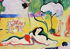 H.Matisse, Joy of Life, (detail).
