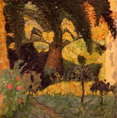 Pierre Bonnard : Palmeraie au Cannet