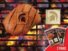 FanMats Michigan State University Grilling Fanbrand 2 Pack