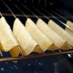 Tortillas de tacos preparacion