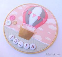 Porta Maternidade Bastidor Balão