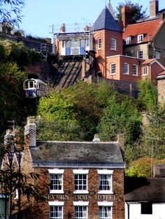 Going up to High Town, Bridgnorth. We went on this funicular railway while staying in our tourer nearby. Certainly saves on the legs going uphill! England Uk, London England, Places To Travel, Places To See, River Severn, Wolverhampton, West Midlands, Union Jack, Adventure Is Out There