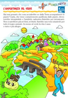 Il verde attorno a noi aiuta a vivere meglio non solo sotto il profilo fisico in quanto l'aria risulta più pulita grazie al lavoro delle pi...