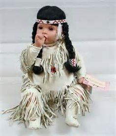 native american porcelain dolls - Yahoo Image Search Results