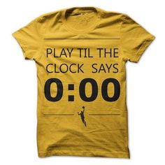 Play until the clock says 0:00 - #oversized tshirt #sweater blanket. MORE INFO => https://www.sunfrog.com/Sports/Play-until-the-clock-says-000.html?68278