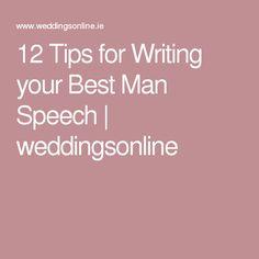Free Best Man Speeches