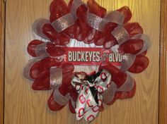 The Ohio State University Buckeyes Football Mesh by MomsDownTime, $50.00