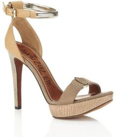 Lanvin Dubrovnik Leather Sandal